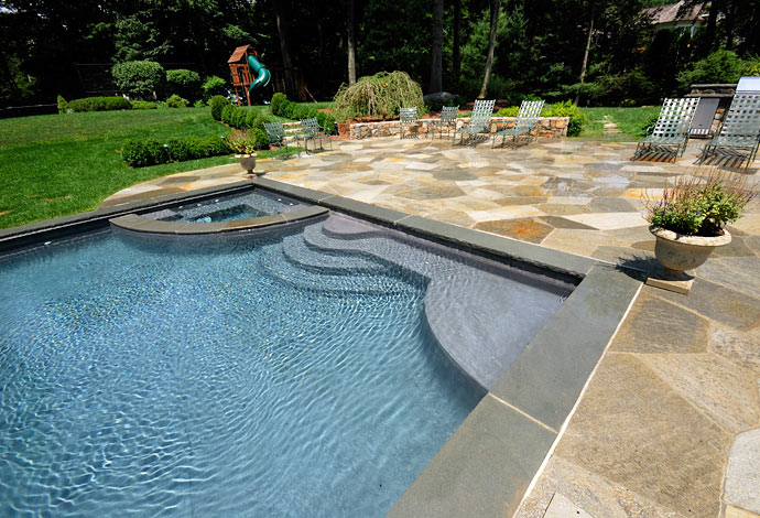 Superb The Best Materials For A Pool Hardscape Sline Pools
