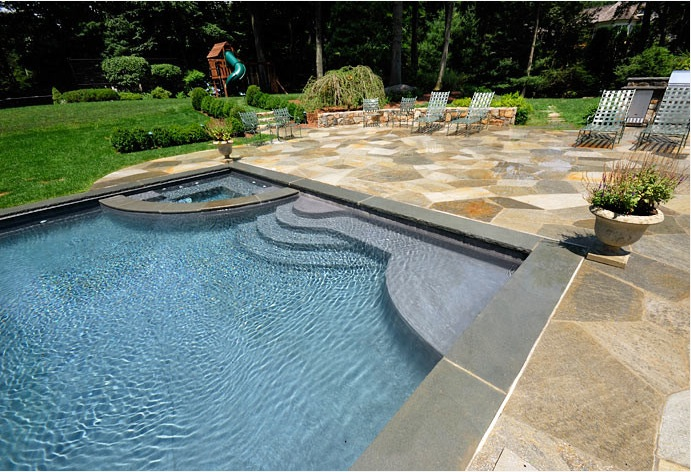 What Is A Sun Shelf In Pool Design Shoreline Pools