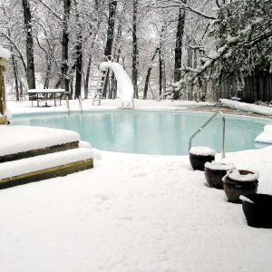 Snow Pool Protection