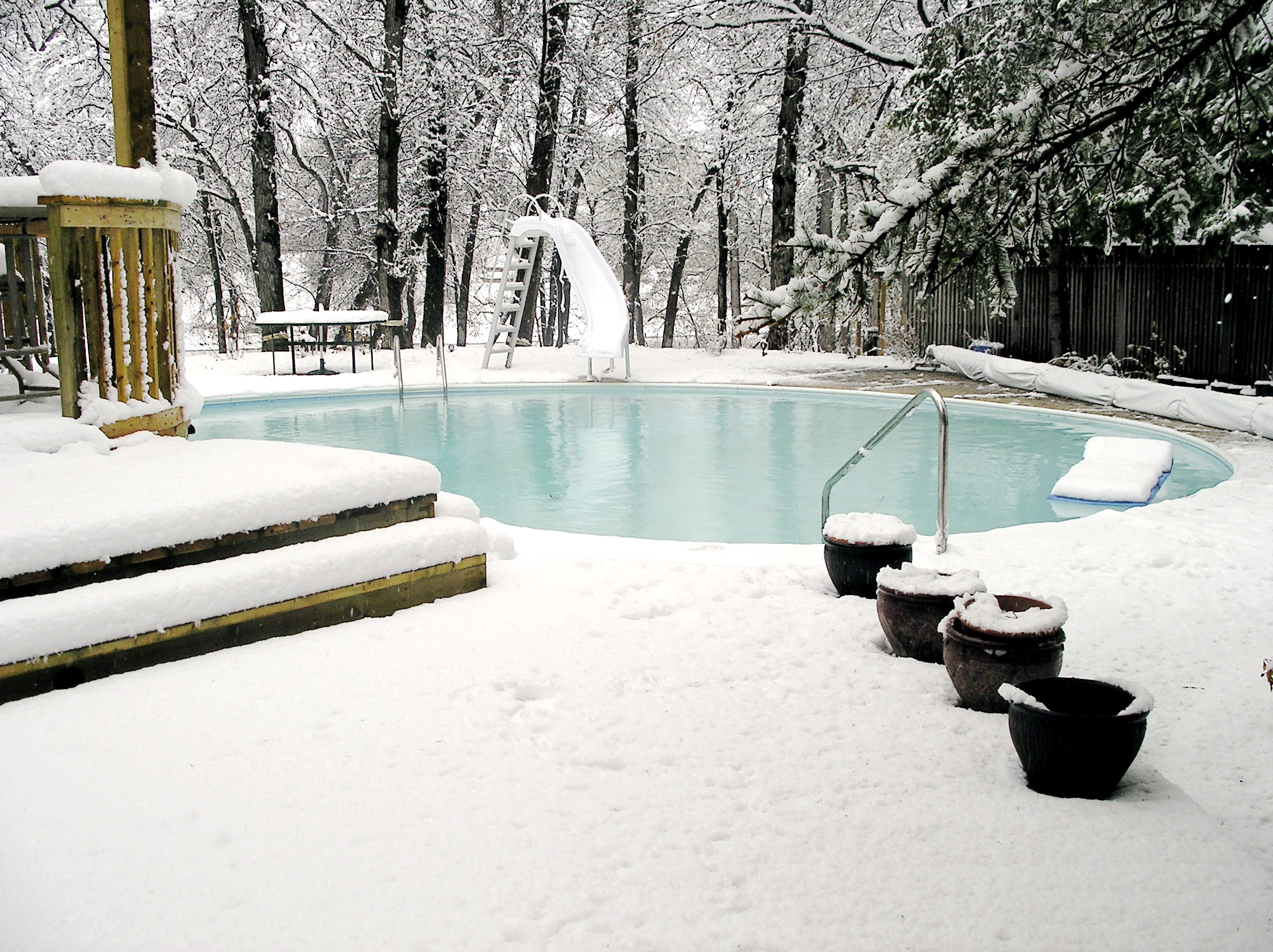 Snow Pool Protection