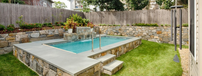 Pool Construction Tips For Tiny Backyards Shoreline Pools